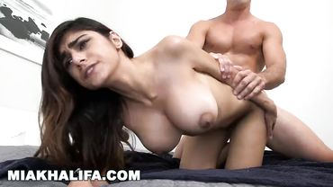 Mia Khalifa gets fucked in her cute Arab pussy and she absolutely loves it
