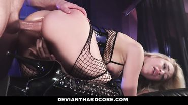 Lyra Law is a blonde who loves getting her anal cavity all stretched out by studs