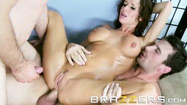 Veronica Avluv gets her big ass pounded in this Brazzers video while she moans too