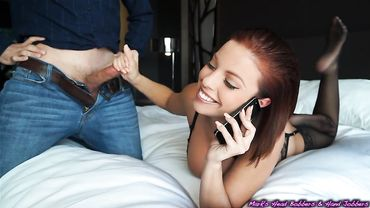 Britney Amber is a red head prostitute that gets banged hard for cash