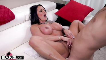 Pierced Latina Ashton Blake loves getting fucked after oiling her beautiful body up