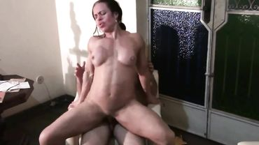 MILF with a tight pussy gets properly fucked and enjoys every single minute
