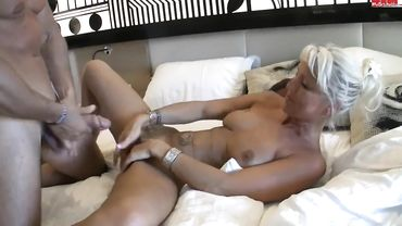 European mom from Germany enjoys the way a cock feels inside of her