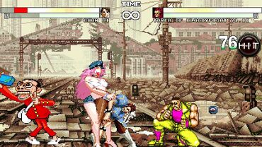 Anime street fight game hentai orgy with known hot anime characters banging each other