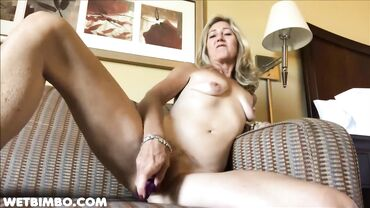 Horny mature amateur loves toying her pussy before sucking dick and fucking hard